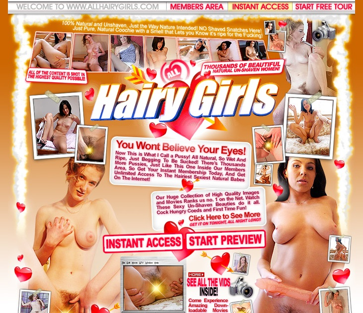 all-hairy-girls