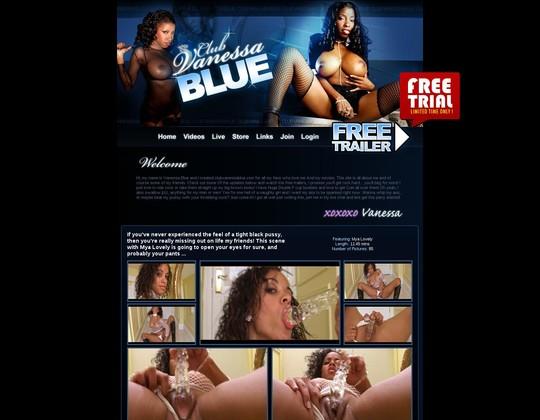Club Vanessa Blue :