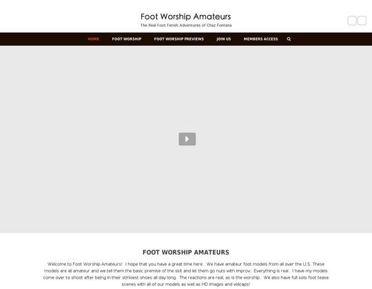 Footworshipamateurs