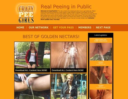 crazypeegirls.com