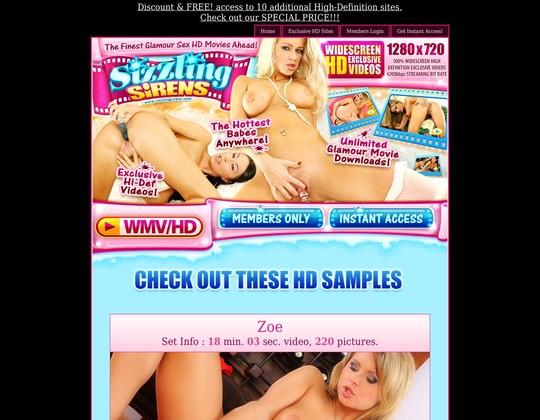 sizzlingsirens.com