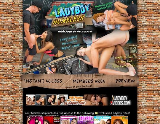 Ladyboy Homeless