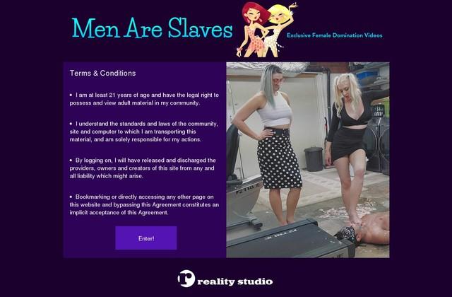 Men Are Slaves