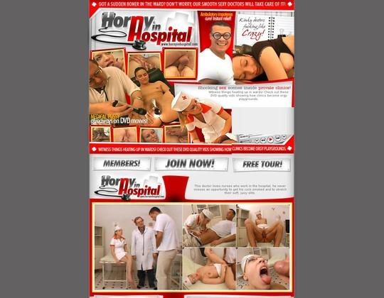 Horny In Hospital