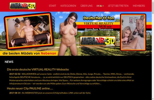 Amateur VR 3 D