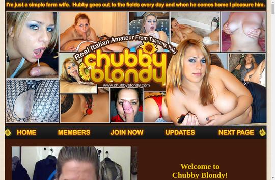 Chubby Blondy