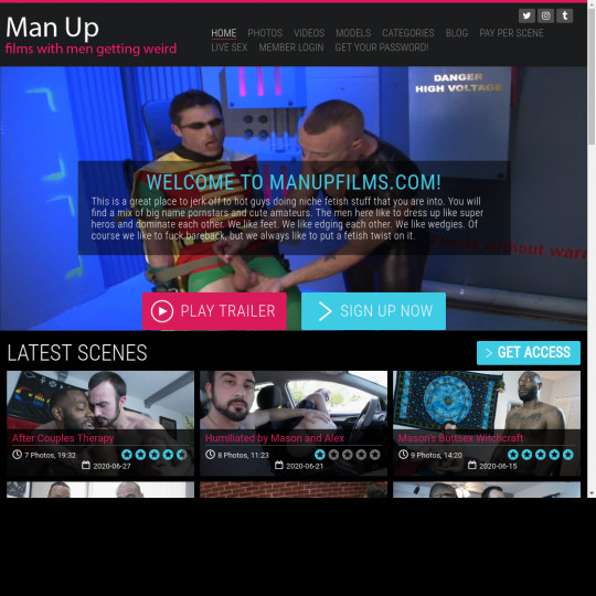man up films