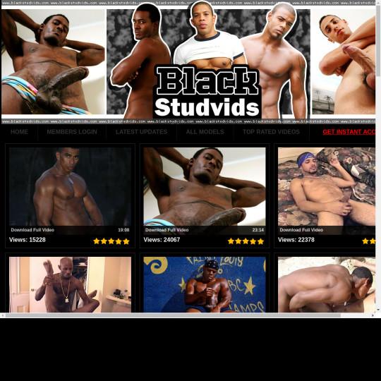 black stud vids